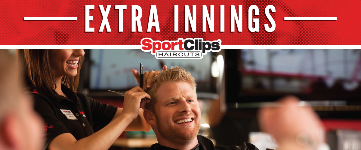 The Sport Clips Haircuts of St Lucie West  Extra Innings Offerings